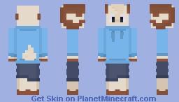 Jschlatt (Goat) Minecraft Skin