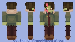 brain yu (monster prom) Minecraft Skin