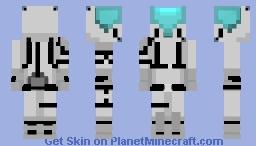 Random Space Knight Minecraft Skin