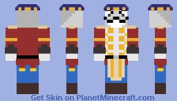League of Legends: Nutcracko (Contest Entry) Minecraft Skin
