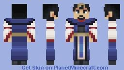Zhou Cho | Romance of the Three Kingdoms Minecraft Skin