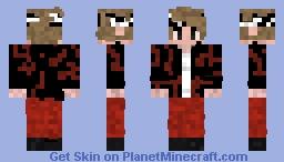 BTS V Mic Drop Minecraft Skin