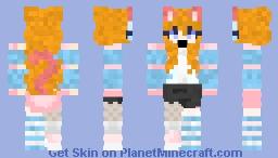 TigerKitty Girl Minecraft Skin