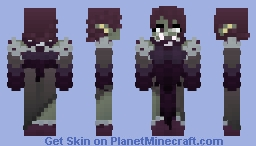 Free To Use   Female Orc   𝔇𝔦𝔫𝔬 Minecraft Skin