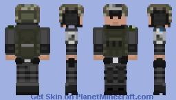 MAGAV Officer 2 Minecraft Skin