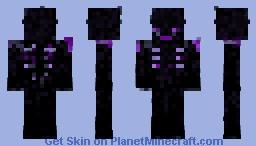 Obsidian Hellspawn Minecraft Skin