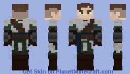 [LOTC] Battle Armour - Alfred Barclay Minecraft Skin