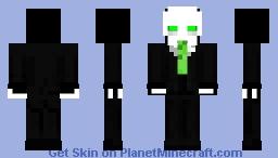 Business Skeleton Minecraft Skin