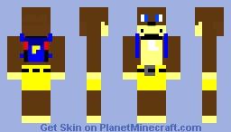 banjo Minecraft Skin