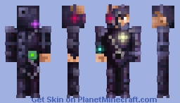 We are the Borg... Minecraft Skin