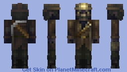 Dirty dusty old miner (my first idea for the miner contest) Minecraft Skin