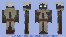 The Blind Oracle [Lord of the Craft] Minecraft Skin
