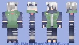 Kakashi Minecraft Skin