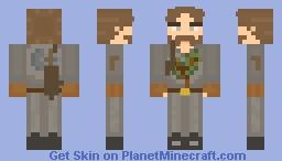 """Jack Lumber"" District 7 - Hungergames Skin Minecraft Skin"