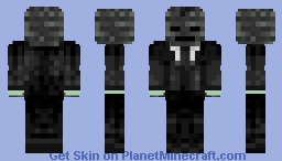 Wither Boss Minecraft Skin