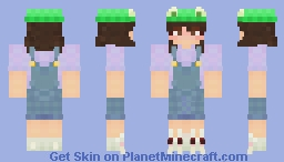 Anni [Froggie Hat + Bunny socks] Minecraft Skin