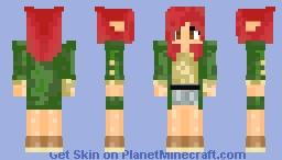 meisjes elf Minecraft Skin