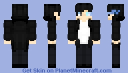 Sung Jin-Woo (Solo Leveling) Minecraft Skin
