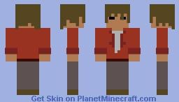 Hans (OSRS) Minecraft Skin