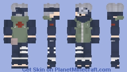 Kakashi Sensei Minecraft Skin
