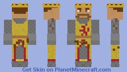 Robert the Bruce Minecraft Skin