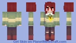 Chara Dreemurr [UNDERTALE] Minecraft Skin