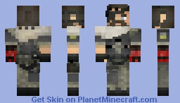 Venom Snake Metal Gear Solid V the phantom pain Minecraft Skin