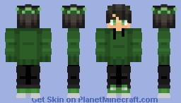 GREEN (: Minecraft Skin