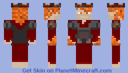 The Nether King Minecraft Skin