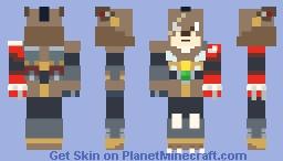 MMX5: Grizzly Slash/ Crescent Grizzly Minecraft Skin