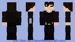Vader Prime (Evil Anakin) Minecraft Skin