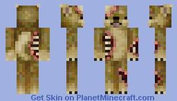 Zombie doge Minecraft Skin