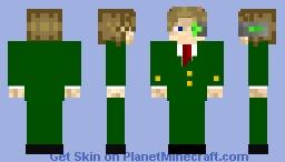 Green suit? Minecraft Skin