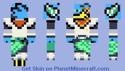 """Berdly_Darkworld """"updated"""" Minecraft Skin"""