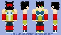 ʙᴀʀᴅᴏᴄᴋ: ᴛʜᴇ ꜰᴀᴛʜᴇʀ ᴏꜰ ɢᴏᴋᴜ Minecraft Skin