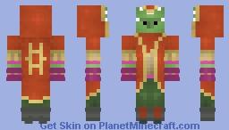 Oggun Olgeric, Vrudruixian Scavenger Minecraft Skin