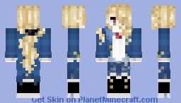 WIP Devere-Crash Labelle Skin(Oc) Minecraft Skin