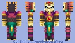 Aztec relic Minecraft Skin