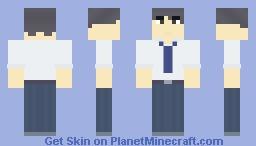 Kuroto Nakano Minecraft Skin