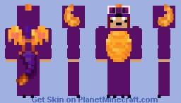 Spyro Onesie Minecraft Skin