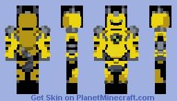 Armodrillo Pixel Art ( Ben 10 Omniverse Version) Minecraft Skin