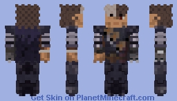 Guts From Berserk Minecraft Skin