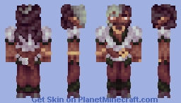 Minoor Songaskia Minecraft Skin