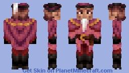 Pink Musketeer Minecraft Skin
