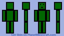 LockDownLife Skin [Dark Green] Minecraft Skin
