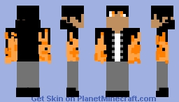 Elementals: Fire Minecraft Skin
