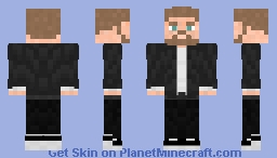 Gray Kevlar Jacket | Open Minecraft Skin