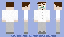 Samson, The Sub-Par Scientist Minecraft Skin