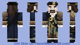 [LotC] Barbossa-esque Pirate Minecraft Skin