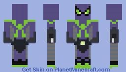 Miles Morales | Purple Reign Minecraft Skin